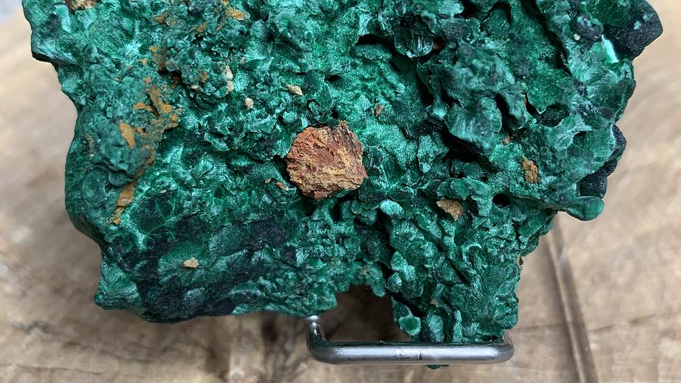 Rough Velvet Malachite Specimen