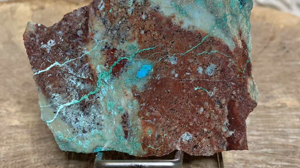 Sonora Sunrise Chrysocolla Slab