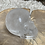 Thumbnail: Clear Crystal Quartz Carved Skull with Rainbow