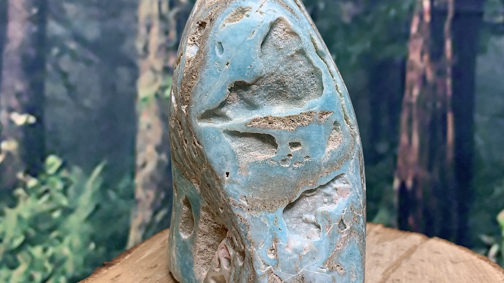 Blue Aragonite Quirky Free Form
