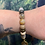 Thumbnail: Ocean Jasper 'Atlantis Stone' Bracelet with Lotus Flower Charm