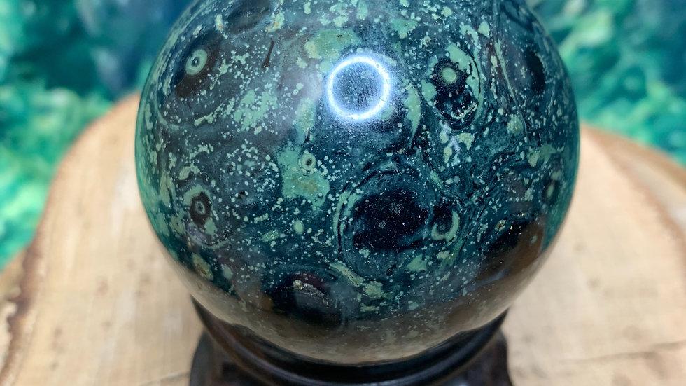 Kambaba Jasper Sphere 64mm