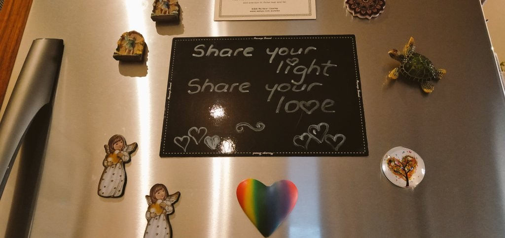 share your light and love