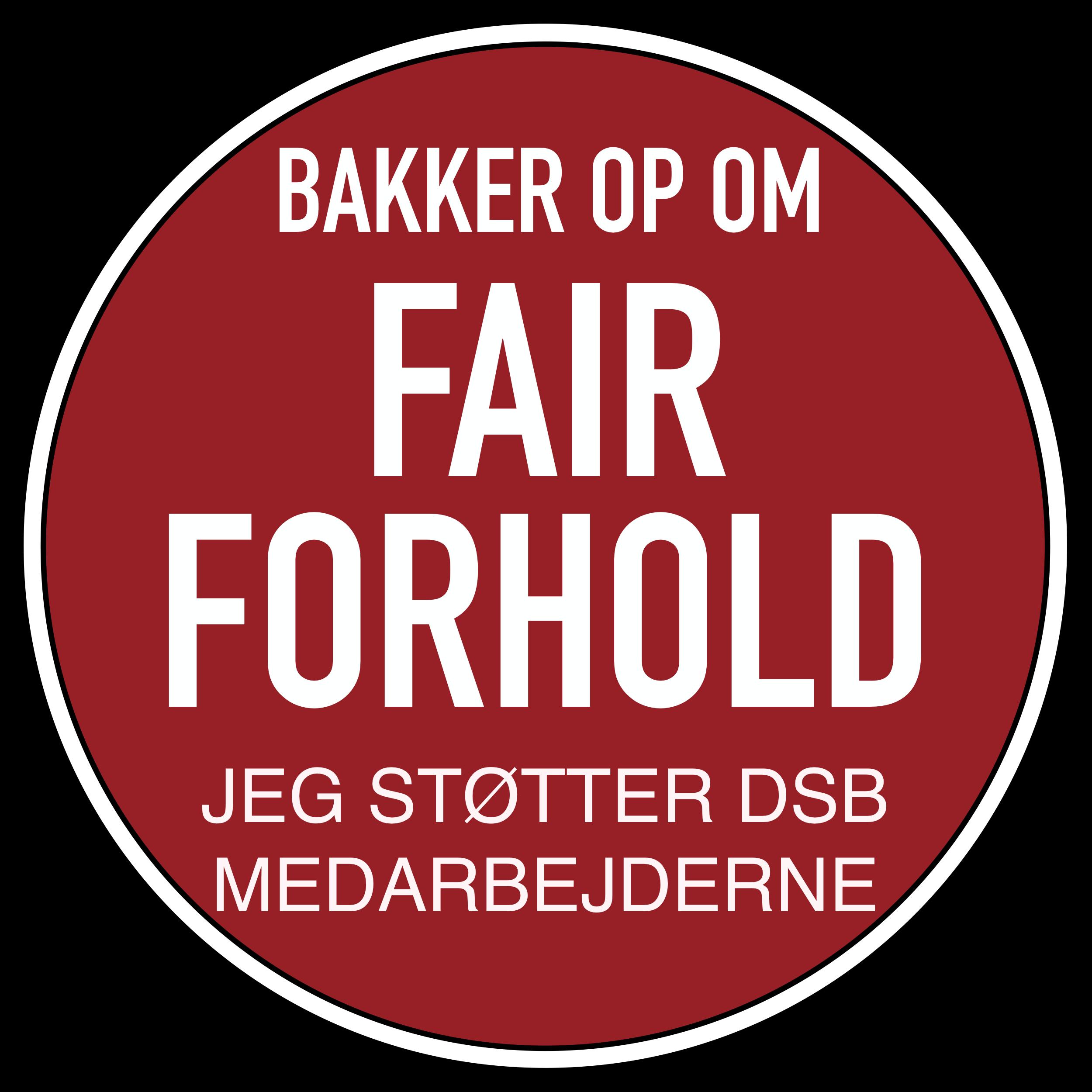 Vis din støtt på nettet #fairforhold
