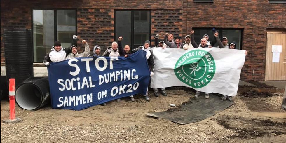København - Aktion for opbakning til OK20