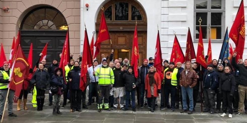 Støt 3F Byggegruppens Forhandlere