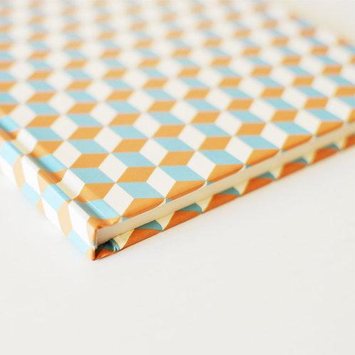 Caderno mosaico de papel 1