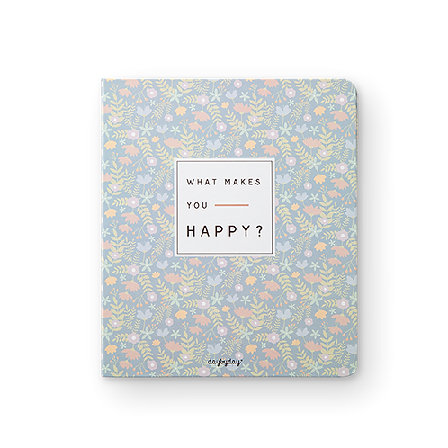 Caderno What makes you Happy?