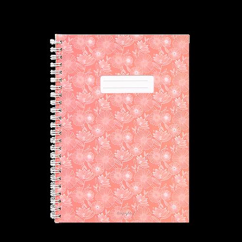 Caderno com janela Rosa