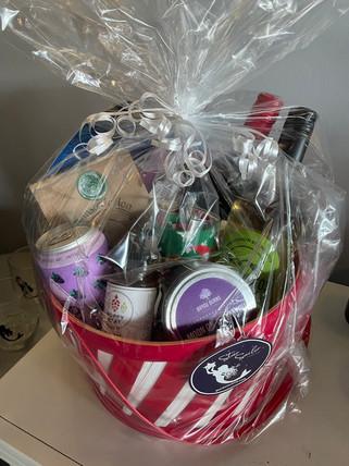 Custom baskets of local goods
