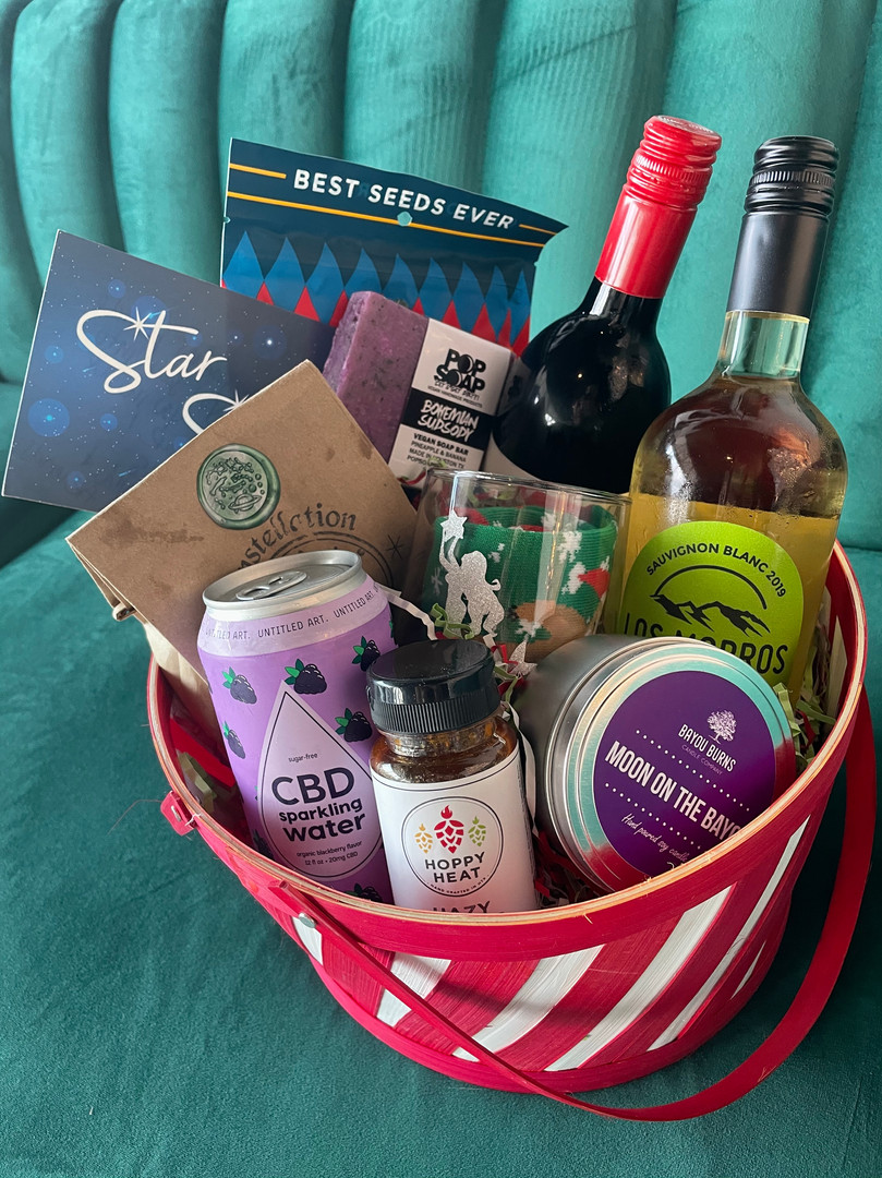 Custom baskets of local goods