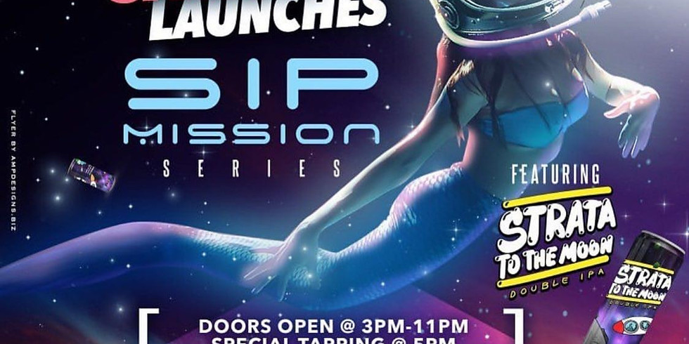Sip Mission Series Featuring Strata to the Moon