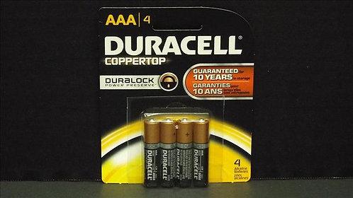 DURACELL COPPERTOP AAA-4PK BATTERY