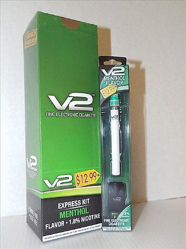 V2 $12.99 MENTHOL PP E-CIG.EXPRESS KIT