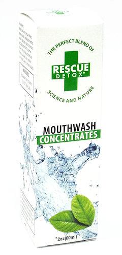 Rescue detox mouthwash concentrates