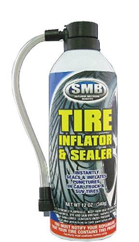 TIRE INFLATOR & SEALER W/ HOSE - SMB