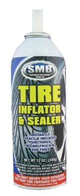 TIRE INFLATOR & SEALER (NO HOSE) - SMB