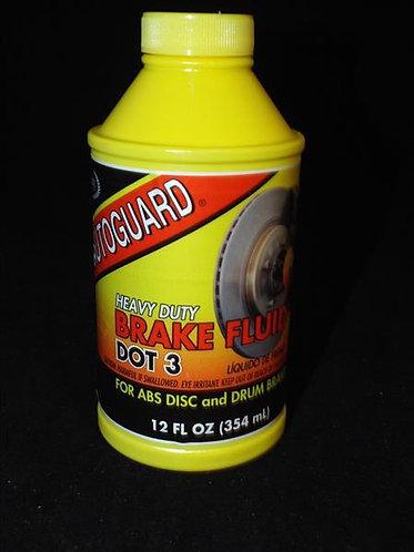 BRAKE FLUID DOT 3 HEAVY DUTY