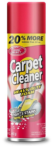 HOME SELECT HEAVY DUTY CARPET CLEANER CAN