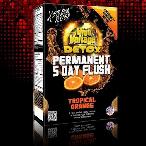 High voltage permanent 5 day flush