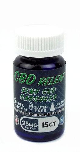 Cbd relief capsules