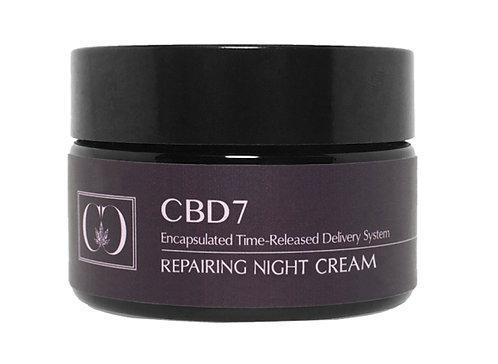 CBD- CANNA CEUTICALS CBD7 REPAIR NIGHT CREAM