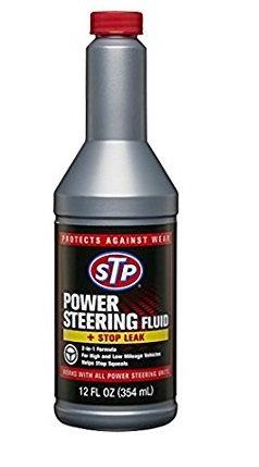 STP POWER STEERING FLUID + STOP LEAK