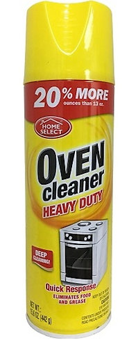 HOME SELECT 15.60OZ OVEN CLEANER