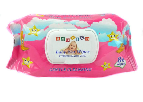 Babyish Baby Wipes