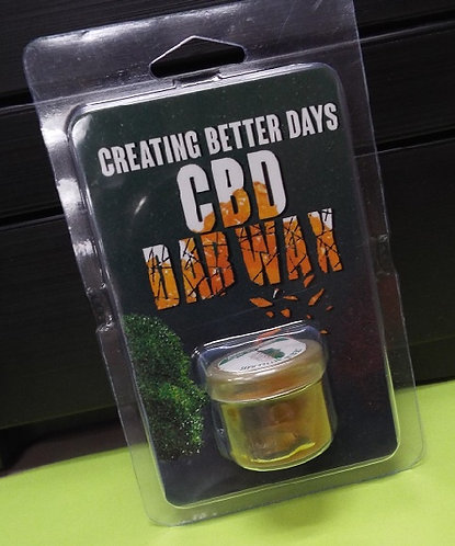 CBD- CREATING BETTER DAYS CBD DAB WAX