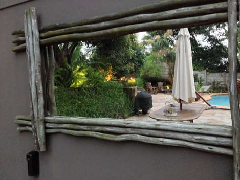 Outdoor Mirror Khanyakude Bed and breakfast