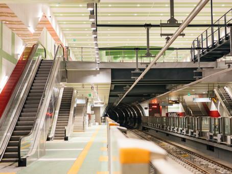Open construction method in Sofia underground
