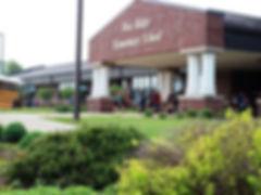 Photo of the campus of Wea Ridge Elementary School