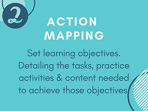 Design Process step 2: Action Mapping