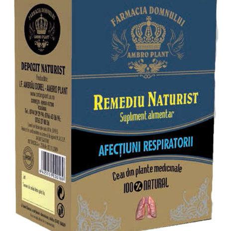 Ceai pentru afecțiuni respiratorii 100g