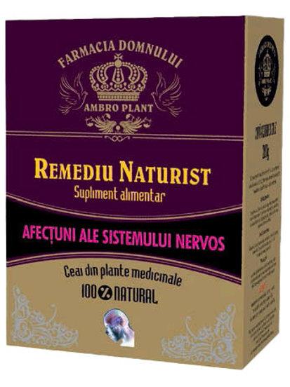 Ceai pentru afecțiunile sistemului nervos 200g