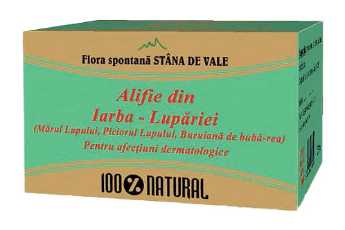 Alifie din Iarba Lupăriei pentru afecțiuni dermatologice 100 gr
