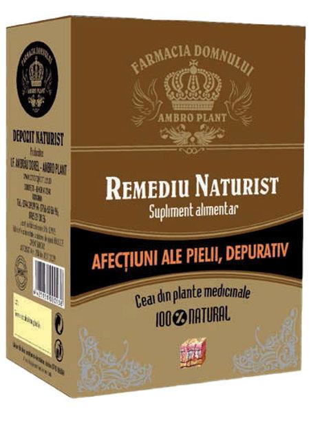 Ceai împotriva afecțiunilor pielii, depurativ 200g