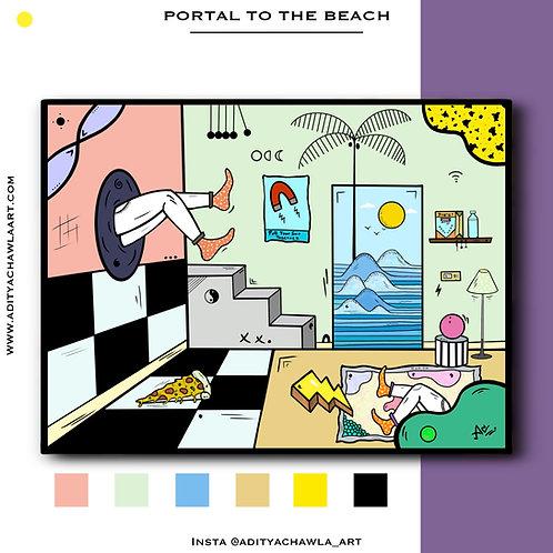 Portal to the Beach