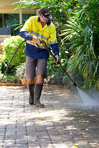 Jet Works does high pressure cleaning in Brisbane.