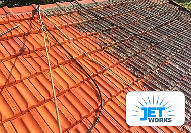 Jet Works specializes in roof cleaning to remove mould and lichen and general grime using high pressure in all suburbs of Brisbane.