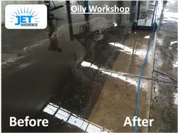 Workshop Warehouse high pressure cleaning Brisbane
