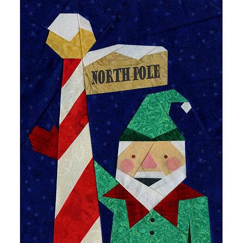 Elfie's Tour Service Paper-pieced Quilt Pattern by Paper Panache