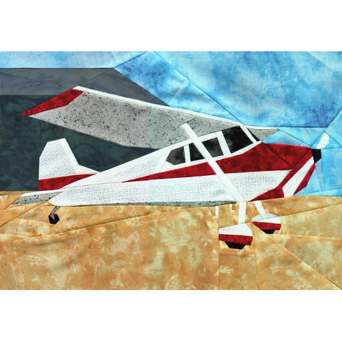 Small Plane Paper-pieced Quilt Pattern by Paper Panache