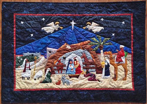 Advent Nativity by Ineke Scheepbouwer