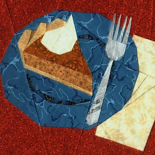 Pumpkin Pie Paper-pieced Quilt Pattern by Paper Panache