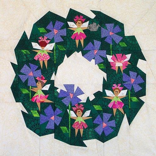 Garden Fairy Wreath