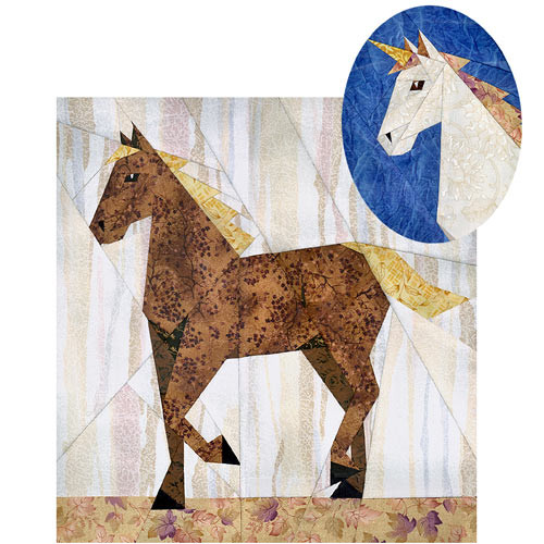 Horse Quilt Patterns Free Quilt Pattern