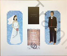 Bride and Groom by Dori Goforth