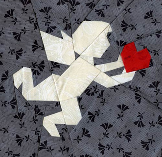 Paper Panache Mystery Block #86 Solution: Cupid